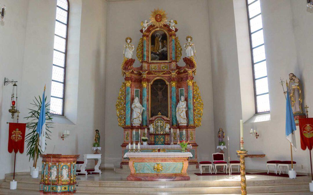 Gottesdienstplan der Pfarrei(en) St. Nikolaus u. St. Mauritius 20.12.2020 – 03.04.2021