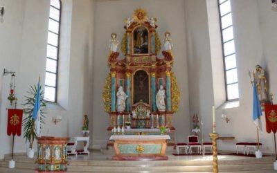 Gottesdienstplan unserer Pfarrei